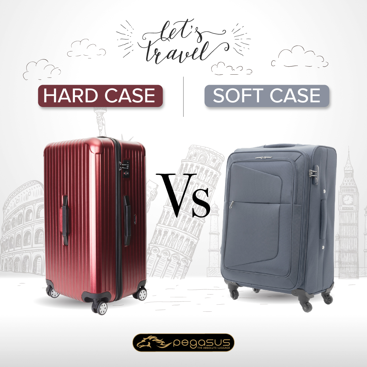 Hard case VS Soft case
